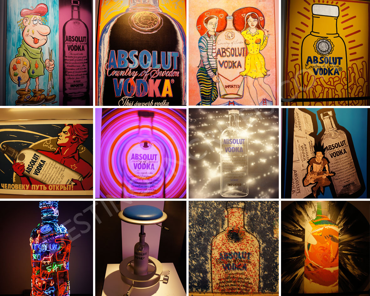Absolut Art Collection no Spirit Museum