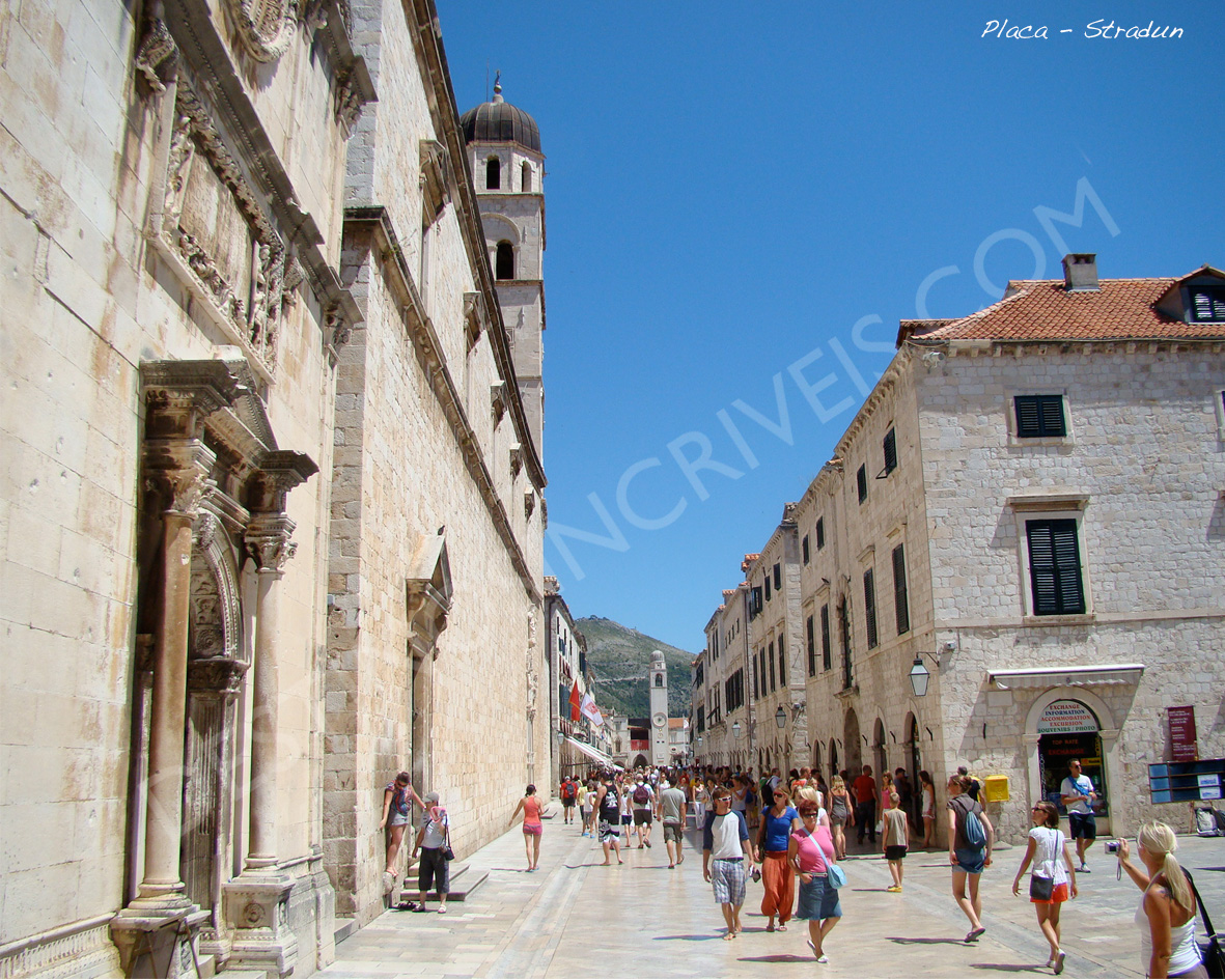 Placa Stradum_Dubrovnik